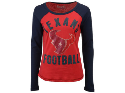 Houston Texans Touch by Alyssa Milano NFL Women's Touchback Long Sleeve T-Shirt