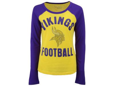 Minnesota Vikings Touch by Alyssa Milano NFL Women's Touchback Long Sleeve T-Shirt