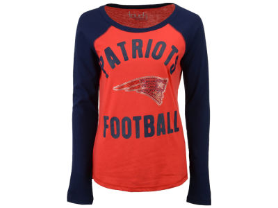 New England Patriots Touch by Alyssa Milano NFL Women's Touchback Long Sleeve T-Shirt