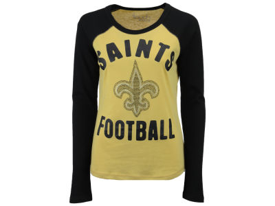 New Orleans Saints Touch by Alyssa Milano NFL Women's Touchback Long Sleeve T-Shirt