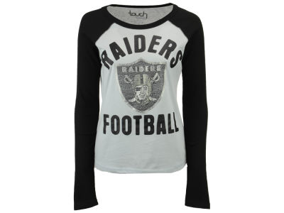 Oakland Raiders Touch by Alyssa Milano NFL Women's Touchback Long Sleeve T-Shirt