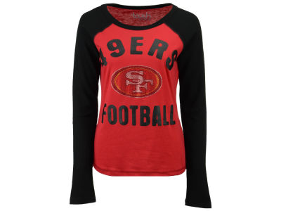 San Francisco 49ers Touch by Alyssa Milano NFL Women's Touchback Long Sleeve T-Shirt