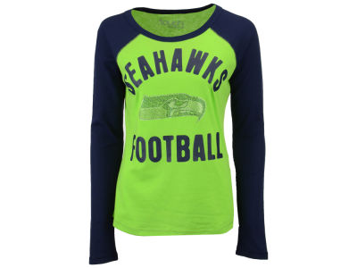 Seattle Seahawks Touch by Alyssa Milano NFL Women's Touchback Long Sleeve T-Shirt