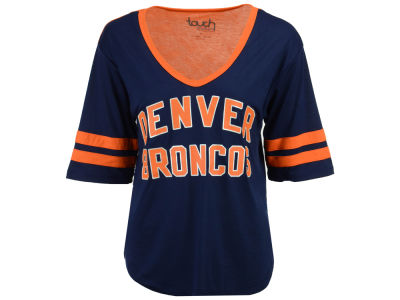 Denver Broncos Touch by Alyssa Milano NFL Women's Quarterback T-Shirt