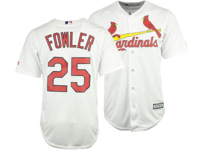 St. Louis Cardinals Dexter Fowler Majestic MLB Men's Player Replica CB Jersey