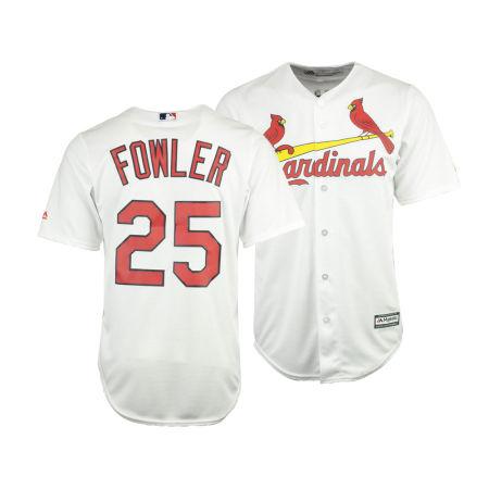 St. Louis Cardinals Dexter Fowler Majestic MLB Men's Player Replica Cool Base Jersey