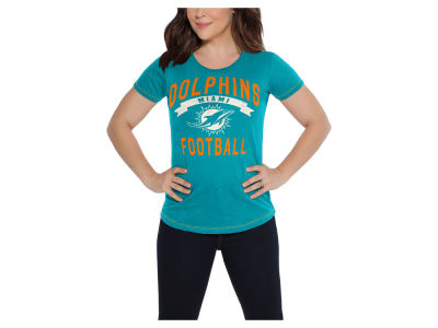 Miami Dolphins Touch by Alyssa Milano NFL Women's MVP T-Shirt