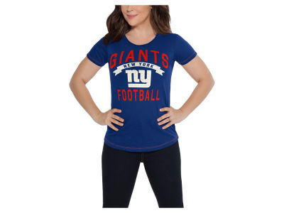 New York Giants Touch by Alyssa Milano NFL Women's MVP T-Shirt