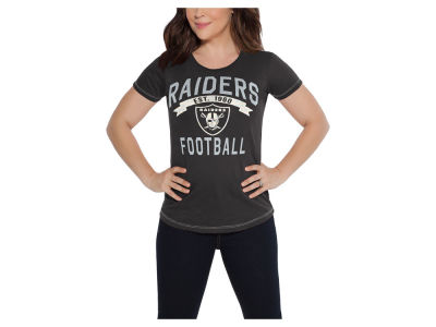 Oakland Raiders Touch by Alyssa Milano NFL Women's MVP T-Shirt