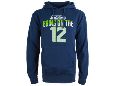 Seattle Seahawks NFL Men's Slogan Hoodie