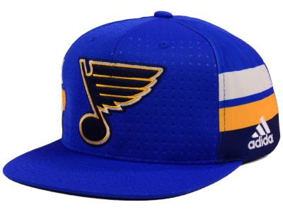 St. Louis Blues adidas NHL Pro Authentic Snapback Cap