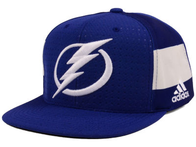 Tampa Bay Lightning adidas NHL Pro Authentic Snapback Cap