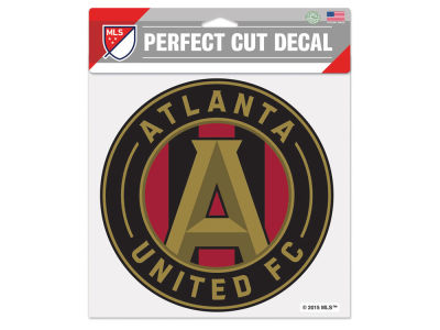 Atlanta United FC Die Cut Color Decal 8in X 8in