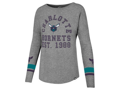 Charlotte Hornets '47 NBA Women's Encore Long Sleeve T-Shirt
