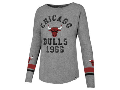 Chicago Bulls '47 NBA Women's Encore Long Sleeve T-Shirt