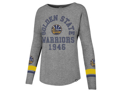 Golden State Warriors '47 NBA Women's Encore Long Sleeve T-Shirt