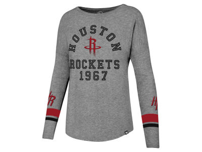 Houston Rockets '47 NBA Women's Encore Long Sleeve T-Shirt