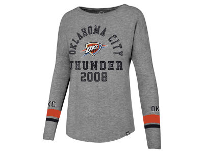 Oklahoma City Thunder '47 NBA Women's Encore Long Sleeve T-Shirt