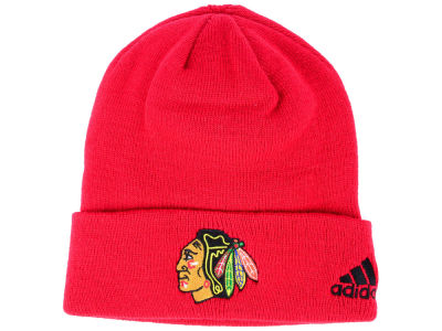 Chicago Blackhawks adidas NHL Basic Cuff Knit