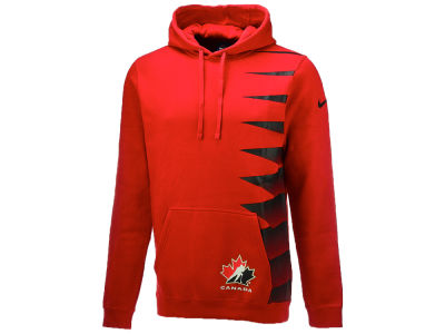 Canada Hockey Nike IIHF Olympics Men's Pullover Fleece Hoodie