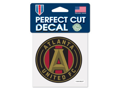 Atlanta United FC Wincraft 4x4 Die Cut Decal Color