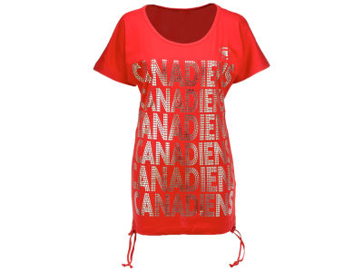 Montreal Canadiens G-III Sports NHL Women's Repeat Foil T-Shirt