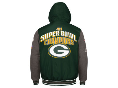 Green Bay Packers G-III Sports NFL Men's Top Brass Commemorative Jacket