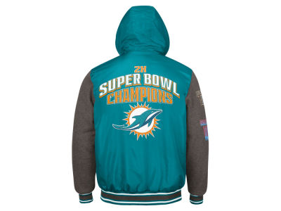 Miami Dolphins G-III Sports NFL Men's Top Brass Commemorative Jacket