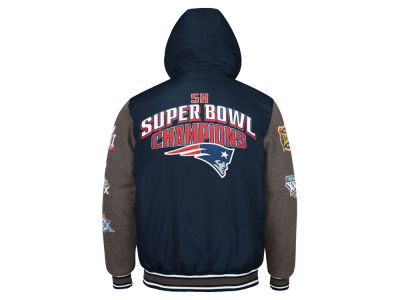 New England Patriots G-III Sports NFL Men's Top Brass Commemorative Jacket