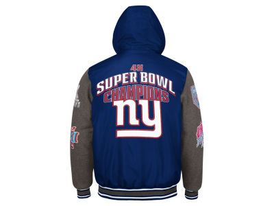 New York Giants G-III Sports NFL Men's Top Brass Commemorative Jacket