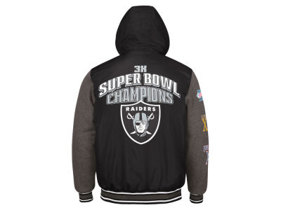 Oakland Raiders G-III Sports NFL Men's Top Brass Commemorative Jacket