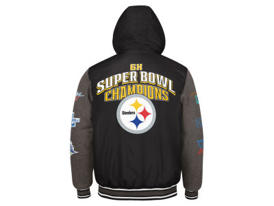 Pittsburgh Steelers G-III Sports NFL Men's Top Brass Commemorative Jacket