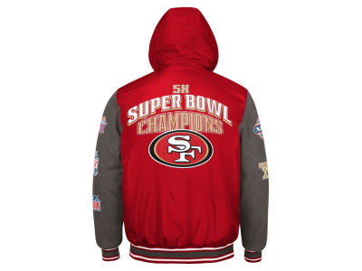 San Francisco 49ers G-III Sports NFL Men's Top Brass Commemorative Jacket