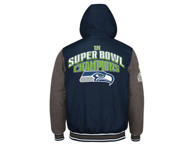 Seattle Seahawks G-III Sports NFL Men's Top Brass Commemorative Jacket