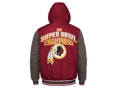 Washington Redskins G-III Sports NFL Men's Top Brass Commemorative Jacket