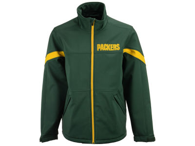Green Bay Packers G-III Sports NFL Men's The Franchise Softshell Jacket