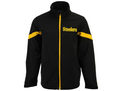 Pittsburgh Steelers G-III Sports NFL Men's The Franchise Softshell Jacket
