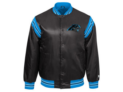 Carolina Panthers Starter NFL Men's The Enforcer Starter Satin Jacket