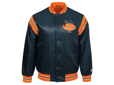 Chicago Bears Starter NFL Men's The Enforcer Starter Satin Jacket