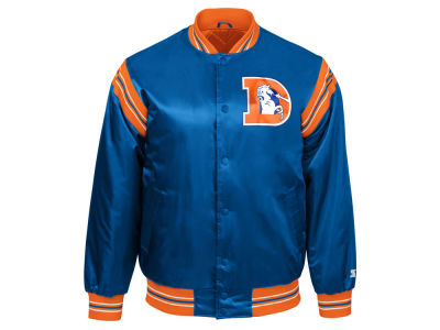 Denver Broncos Starter NFL Men's The Enforcer Starter Satin Jacket
