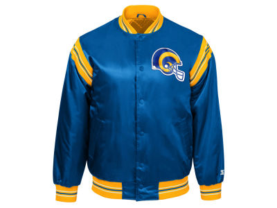 Los Angeles Rams Starter NFL Men's The Enforcer Starter Satin Jacket