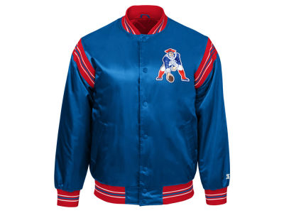 New England Patriots Starter NFL Men's The Enforcer Satin Jacket
