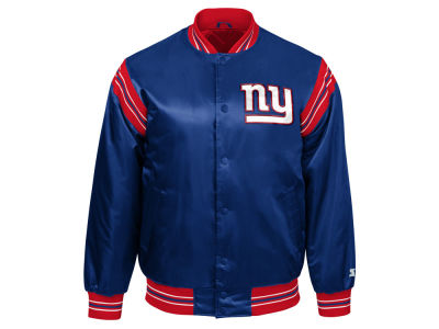New York Giants Starter NFL Men's The Enforcer Starter Satin Jacket