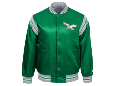Philadelphia Eagles Starter NFL Men's The Enforcer Starter Satin Jacket
