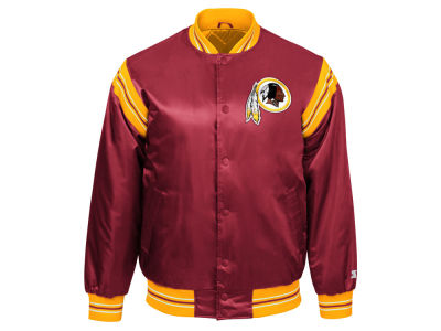 Washington Redskins Starter NFL Men's The Enforcer Satin Jacket