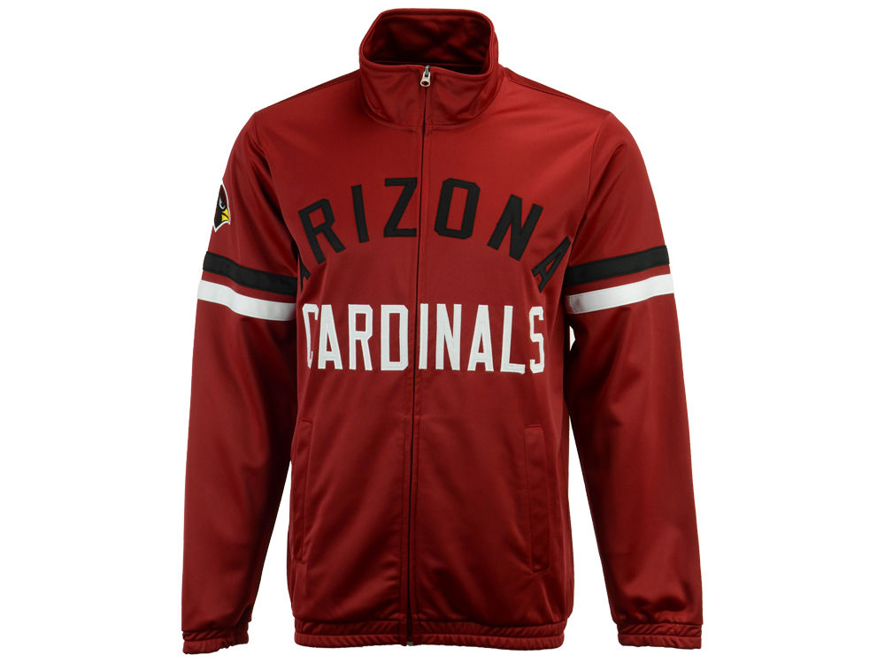 watch 5ab24 f5f99 Arizona Cardinals G-III Sports NFL Men's Veteran Track Jacket