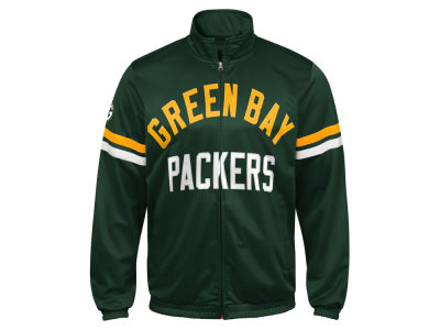 Green Bay Packers G-III Sports NFL Men's Veteran Track Jacket