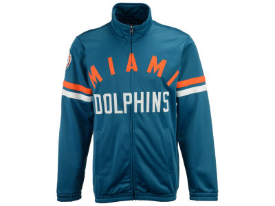 Miami Dolphins G-III Sports NFL Men's Veteran Track Jacket