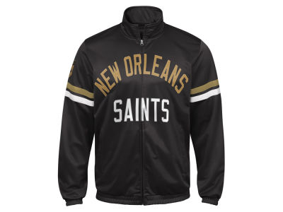 New Orleans Saints G-III Sports NFL Men's Veteran Track Jacket