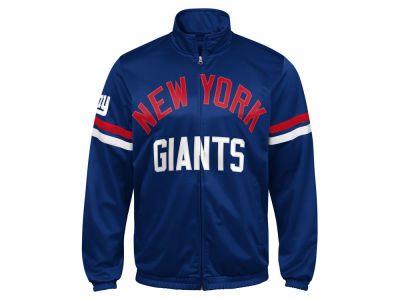 New York Giants G-III Sports NFL Men's Veteran Track Jacket